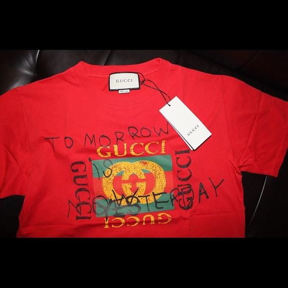 a3d45bfb0 Gucci Shirts | Coco Capitn | Poshmark